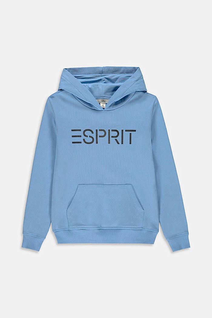 Katoenen hoodie met logo
