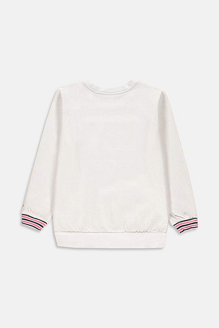 Statement-sweatshirt i 100% bomull
