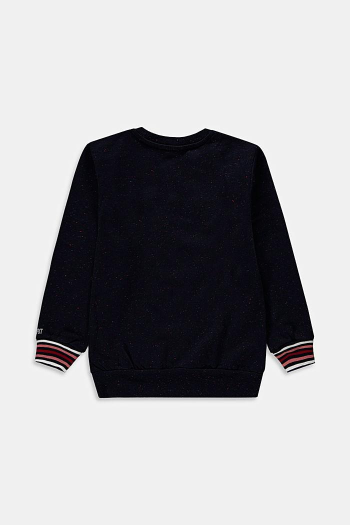 Statement-sweatshirt af 100 % bomuld