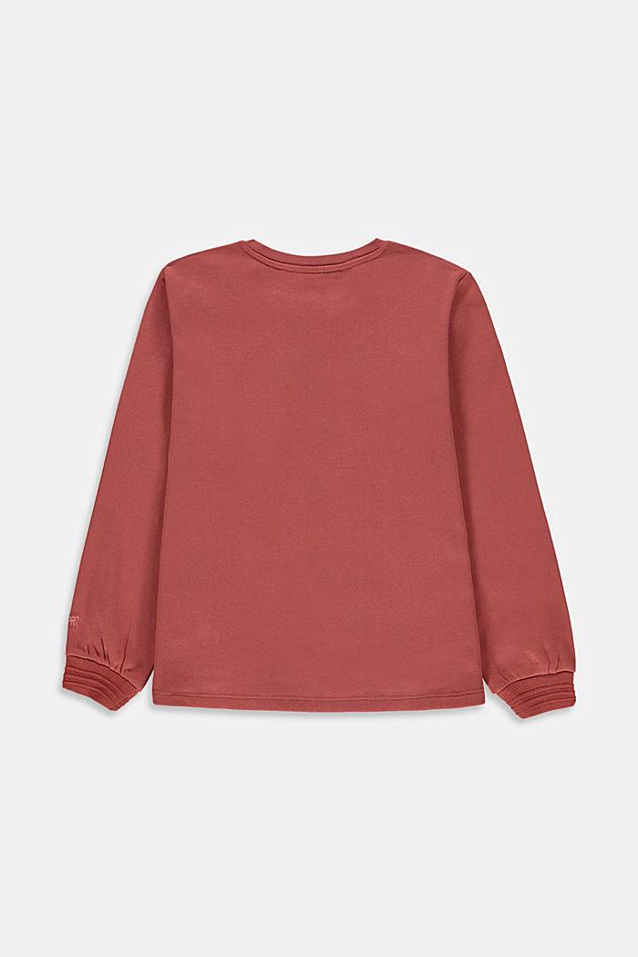 Kortare sweatshirt i 100% ekobomull