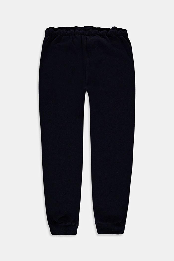 Jogginghose im Washed-Look, 100% Baumwolle