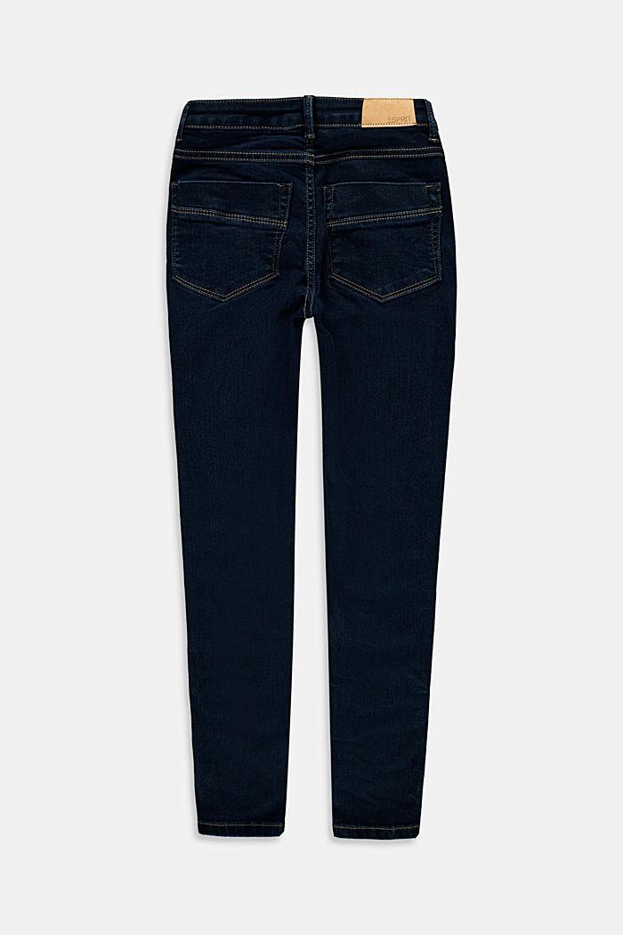 Stretch-Jeans aus Baumwoll-Mix