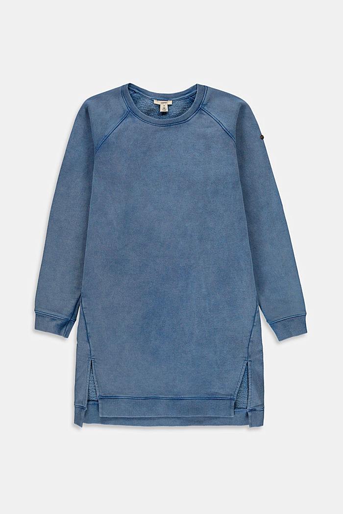 Robe-sweat-shirt 100% coton