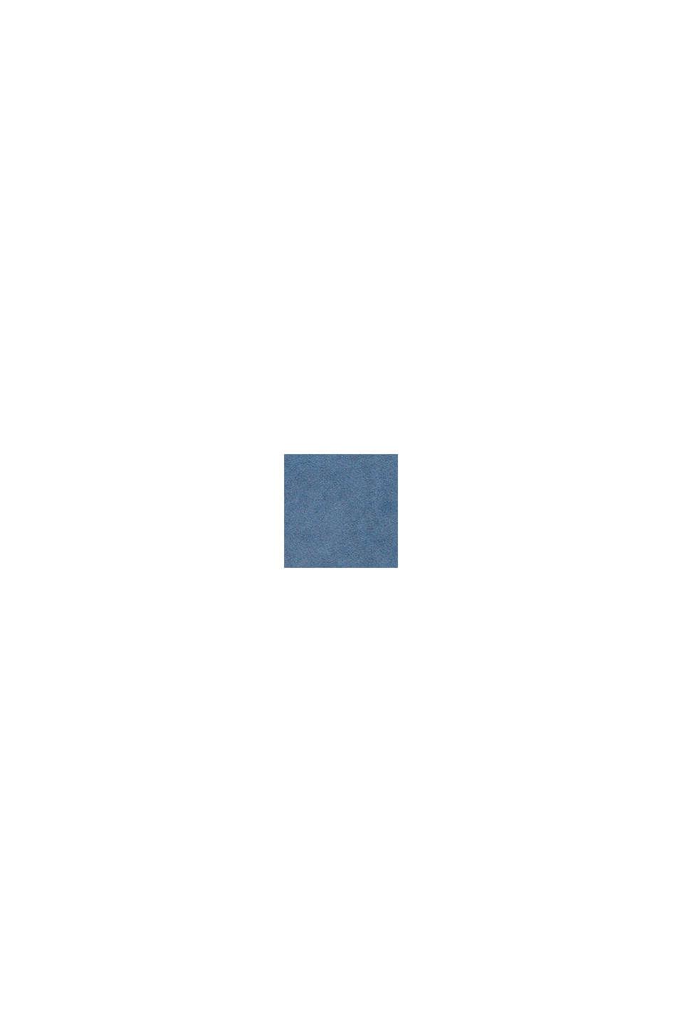 Sweatshirtklänning i 100% bomull, BLUE MEDIUM WASHED, swatch