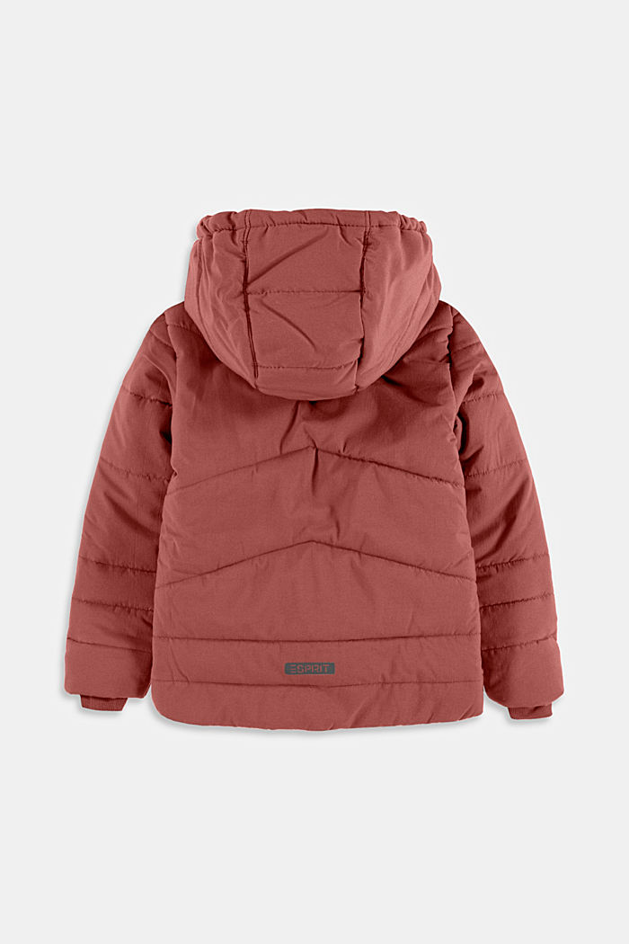 Jackets outdoor woven, DARK MAUVE, detail image number 1