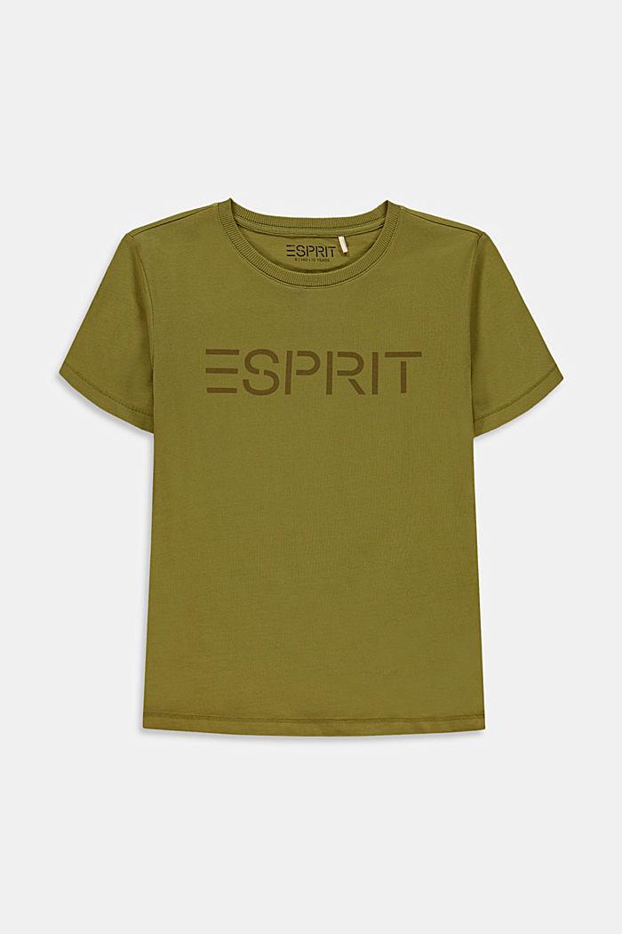 Camiseta con el logotipo en 100% algodón