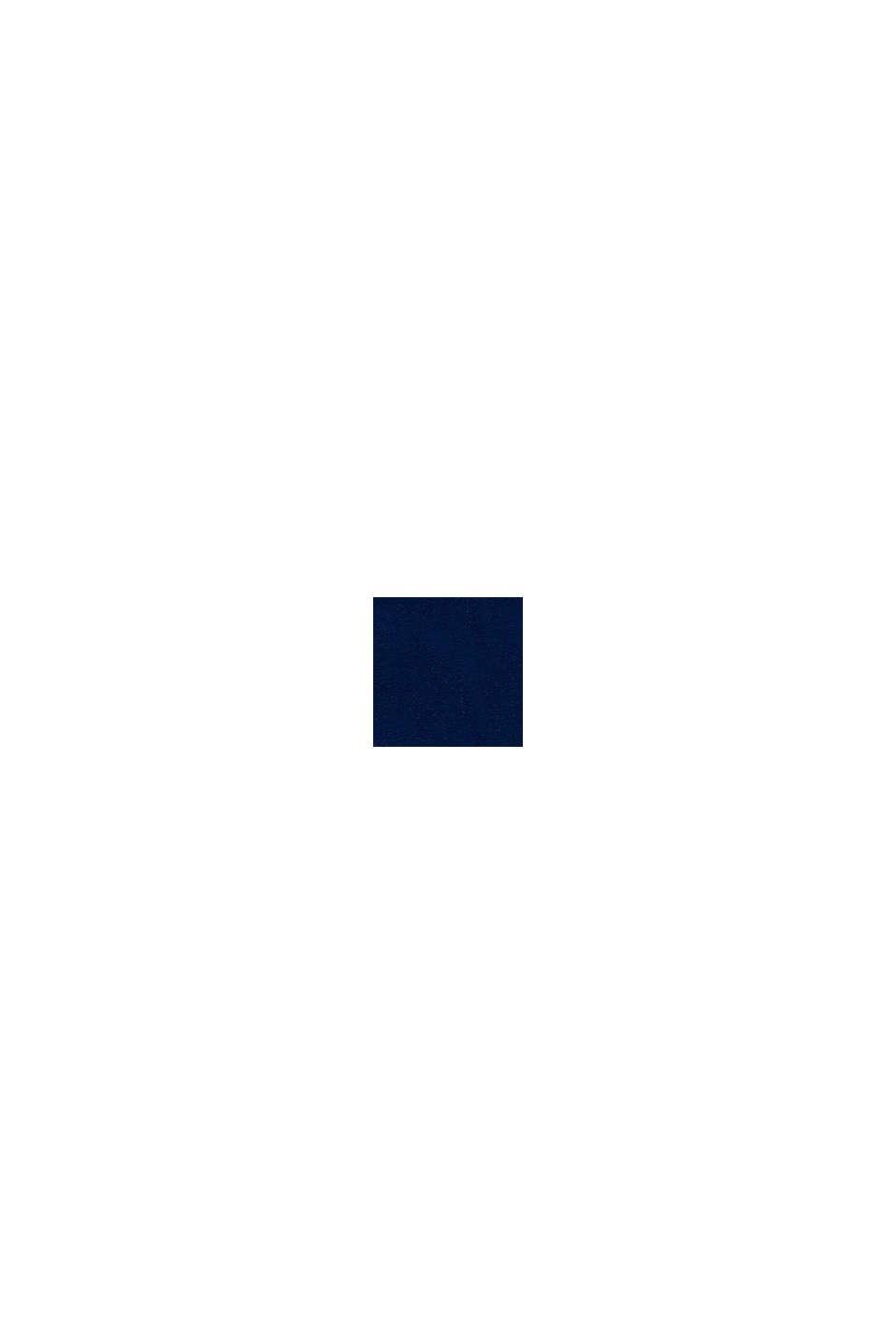 Camiseta con estampado, 100% algodón, BLUE, swatch