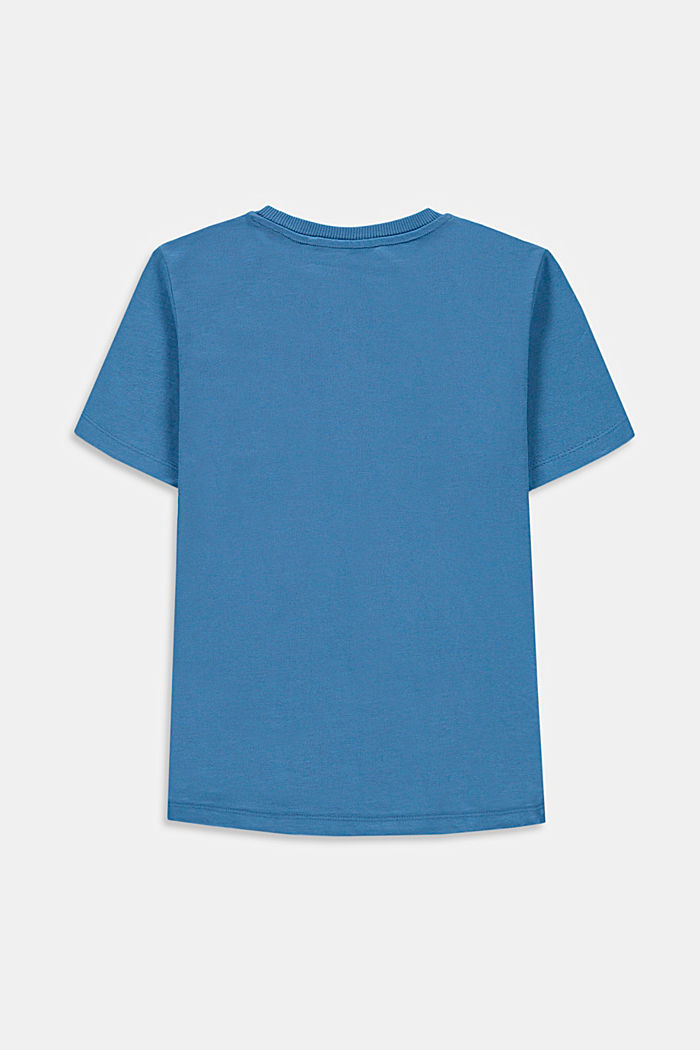 T-Shirt mit Print, 100% Baumwolle, LIGHT BLUE, detail image number 1