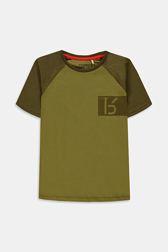 Camiseta con estampado en 100% algodón