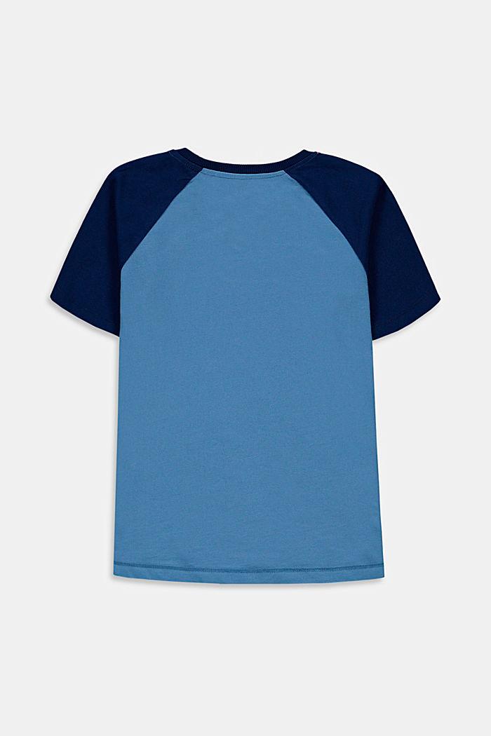 T-shirt z nadrukiem, 100% bawełny, LIGHT BLUE, detail image number 1