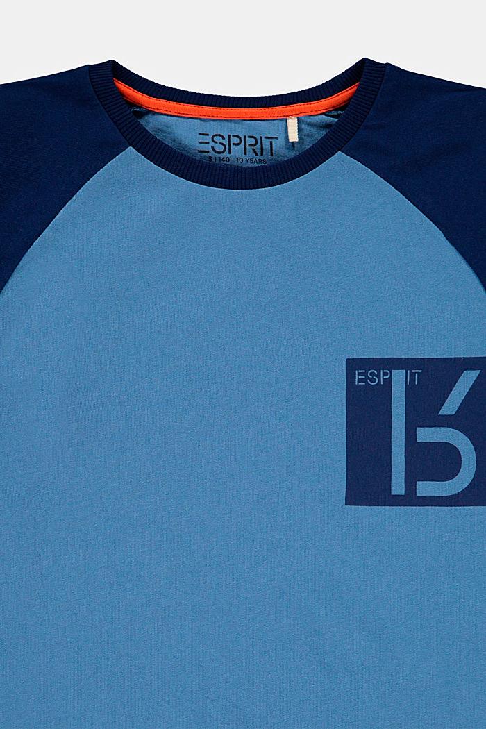 T-shirt z nadrukiem, 100% bawełny, LIGHT BLUE, detail image number 2