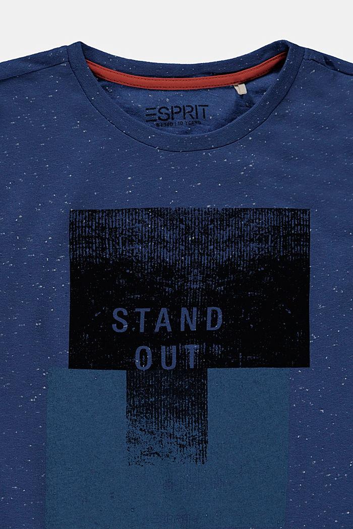 Camiseta de manga larga estampada, 100% algodón, BLUE, detail image number 2