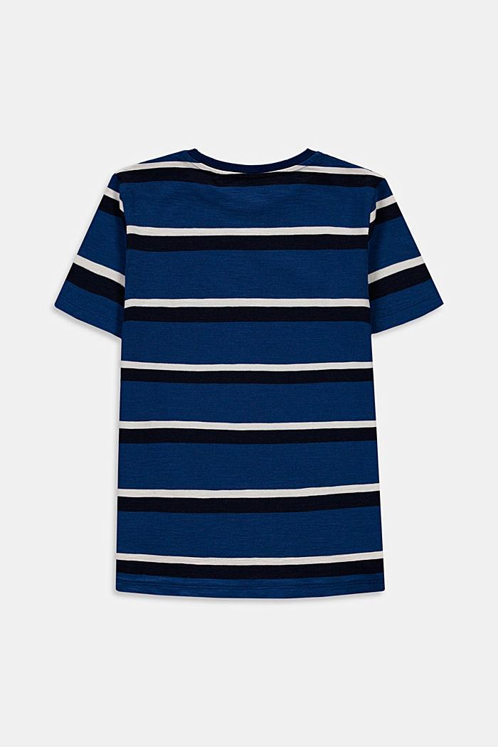Camiseta a rayas en 100% algodón