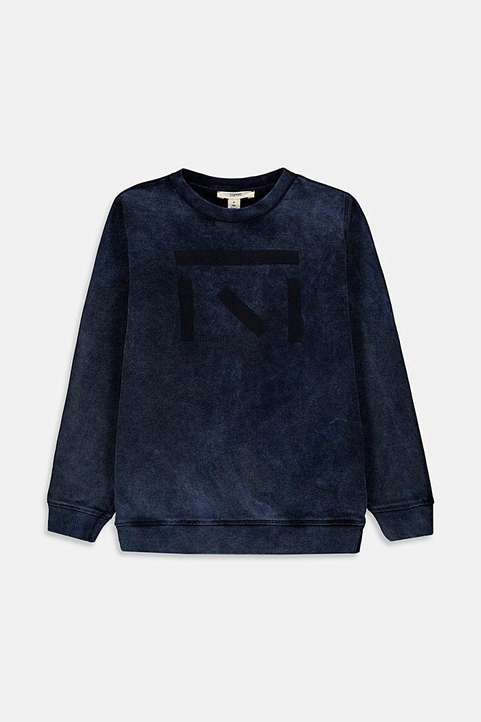 Sweatshirt met artworkprint