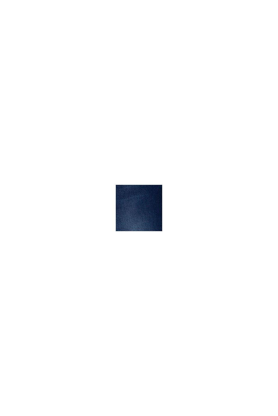 Lediga jeans med reglerbar linning, BLUE DARK WASHED, swatch