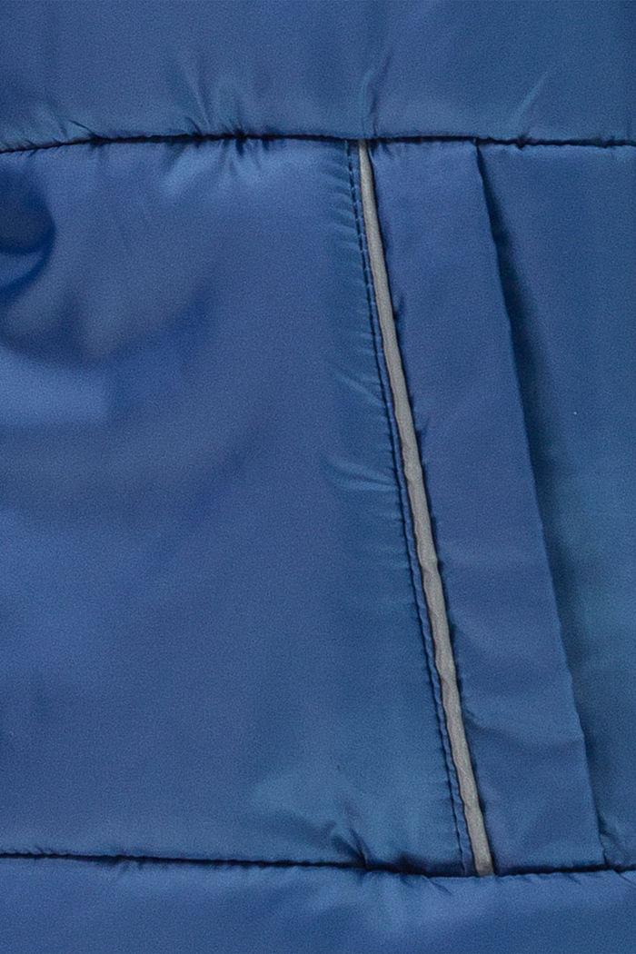 Steppjacke mit Fleecefutter und Kapuze, BLUE, detail image number 2
