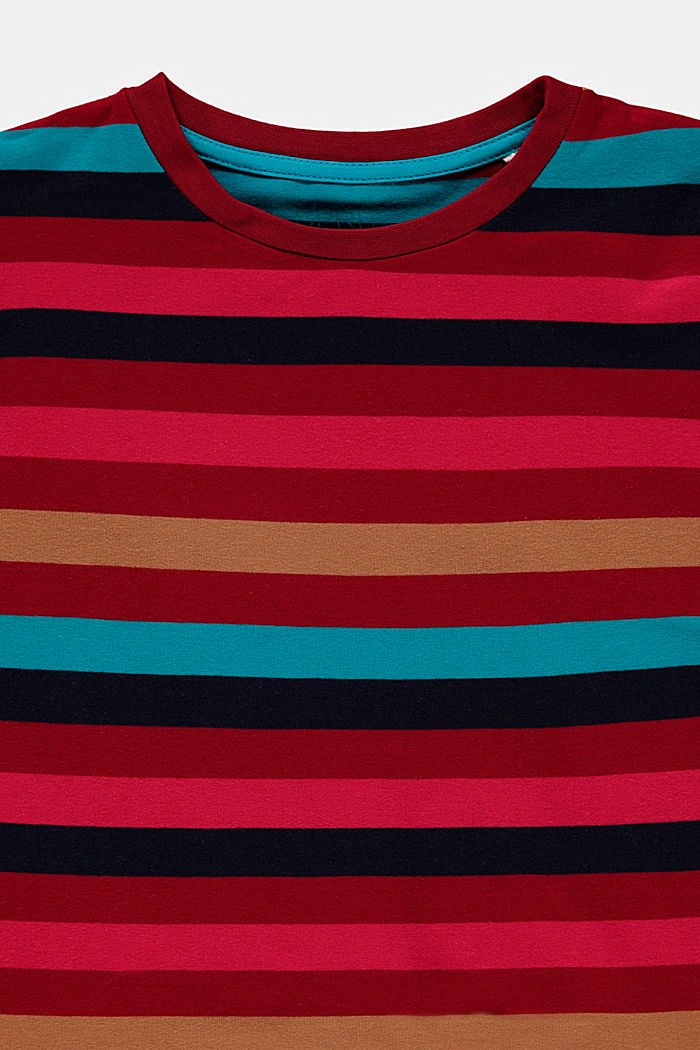 T-Shirts, DARK RED, detail image number 2