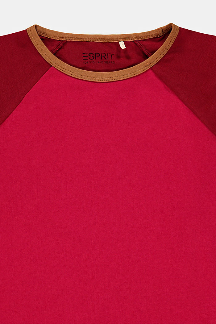 T-Shirts, BERRY RED, detail image number 2