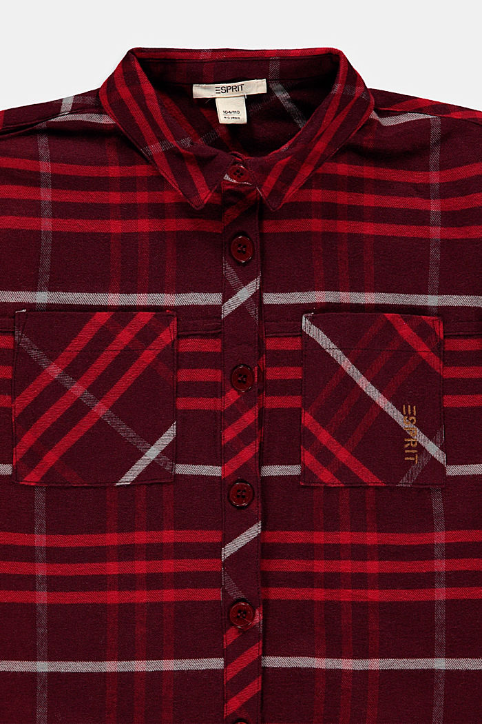Blouses woven, DARK RED, detail image number 2