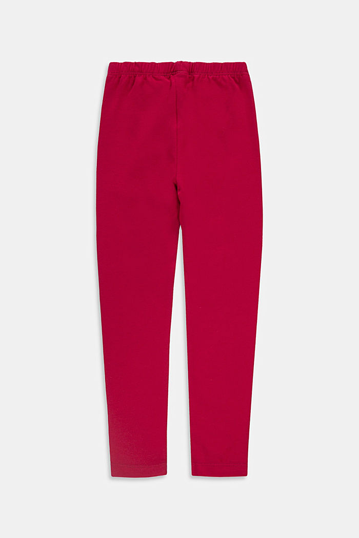 Pants knitted, BERRY RED, detail image number 1