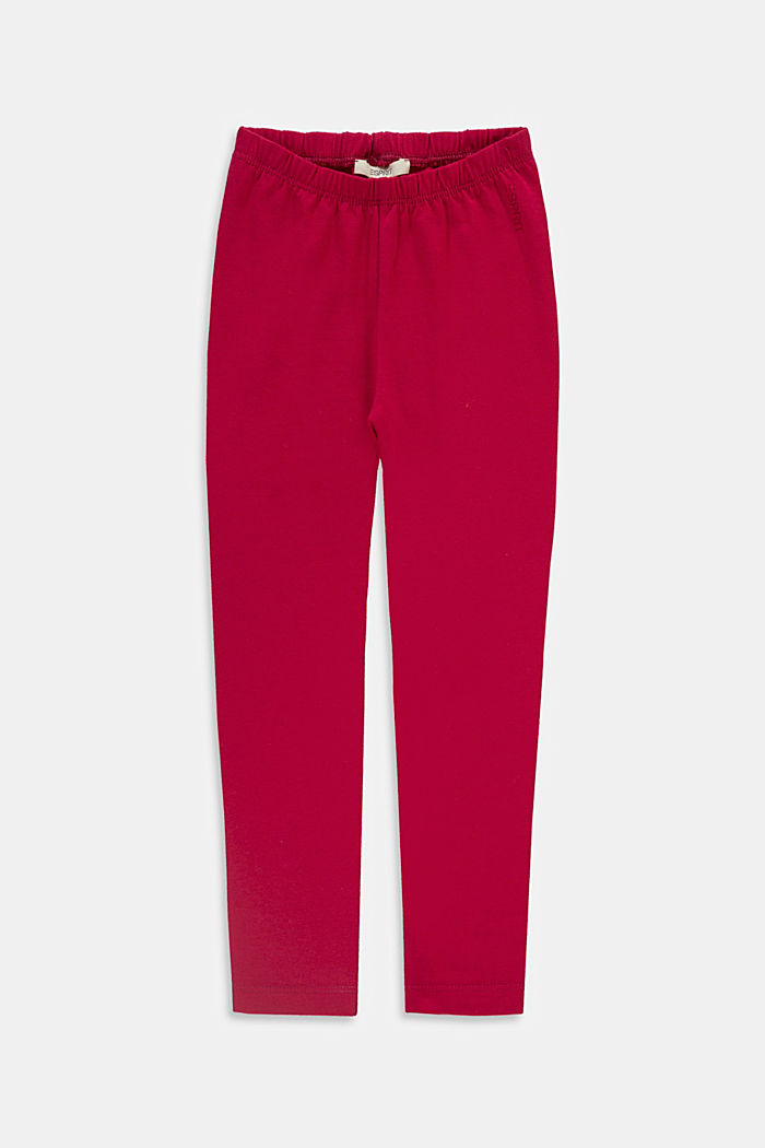 Pants knitted, BERRY RED, detail image number 0