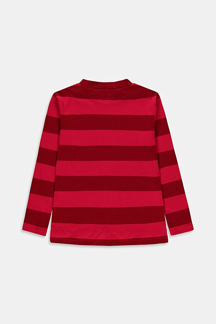 T-Shirts, DARK RED, detail image number 1