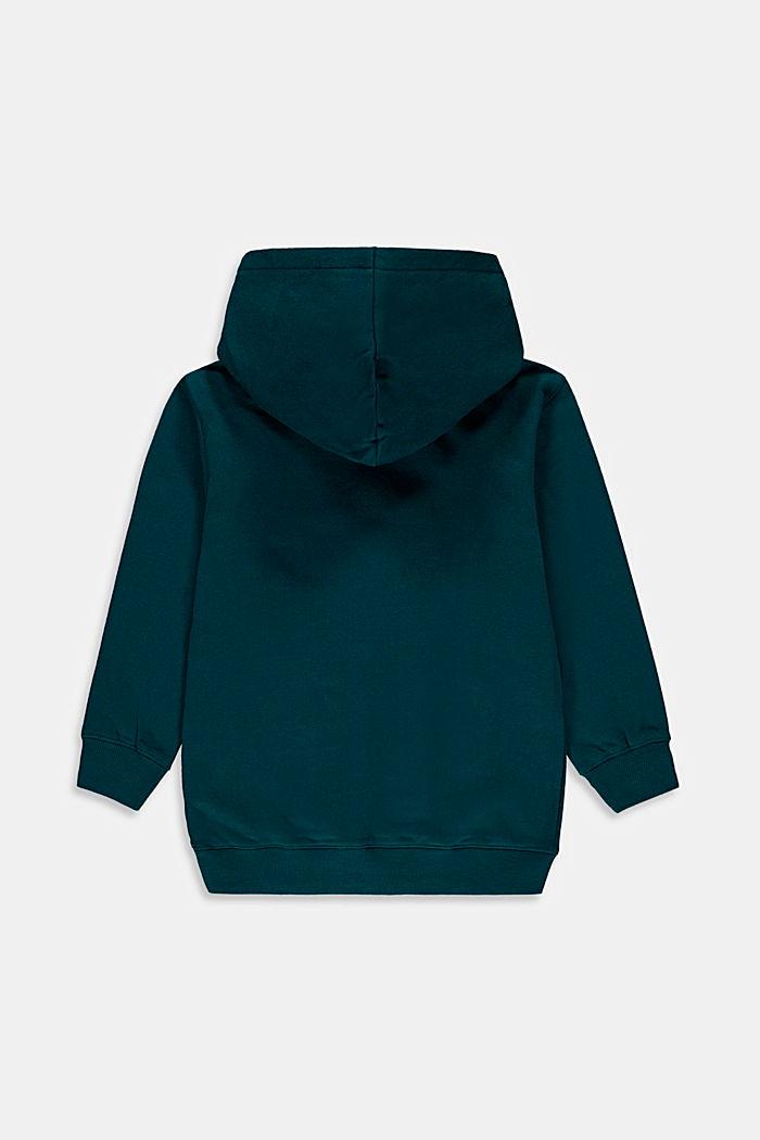 Sweatshirts, EMERALD GREEN, detail image number 1