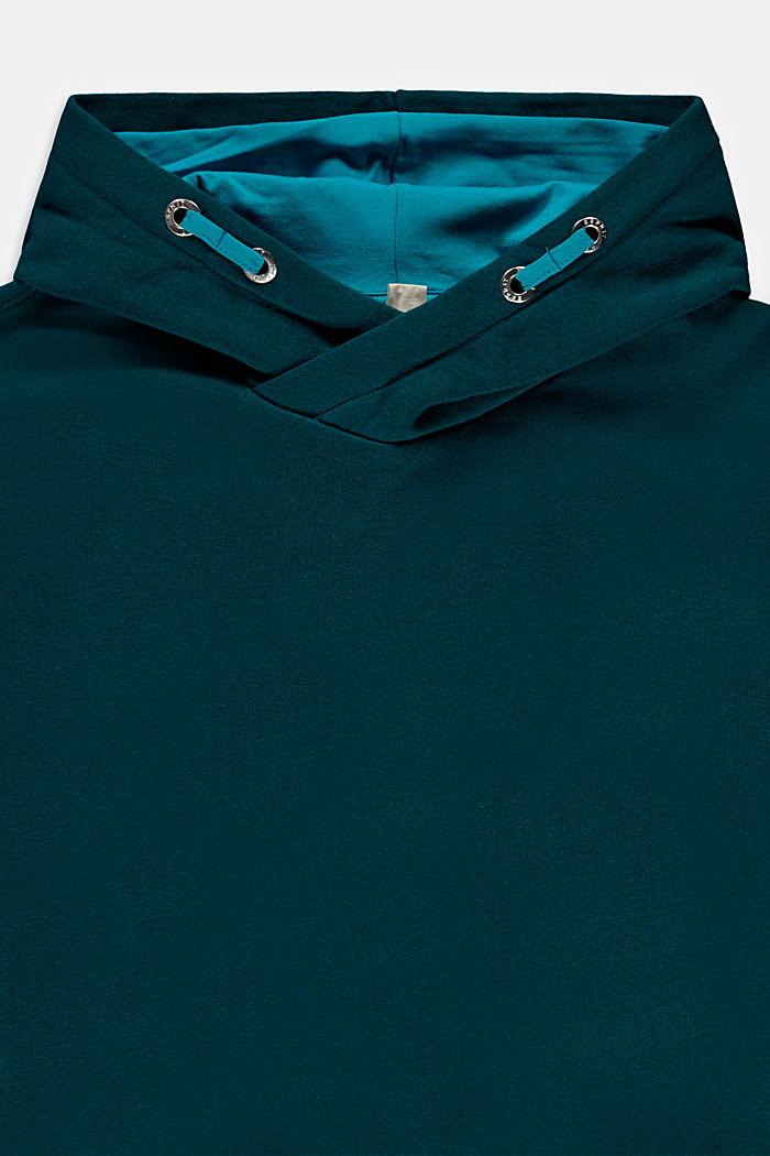 Sweatshirts, EMERALD GREEN, detail image number 2