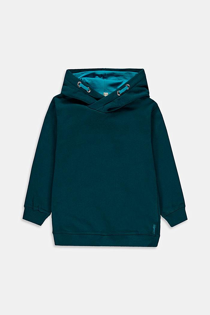 Sweatshirts, EMERALD GREEN, detail image number 0