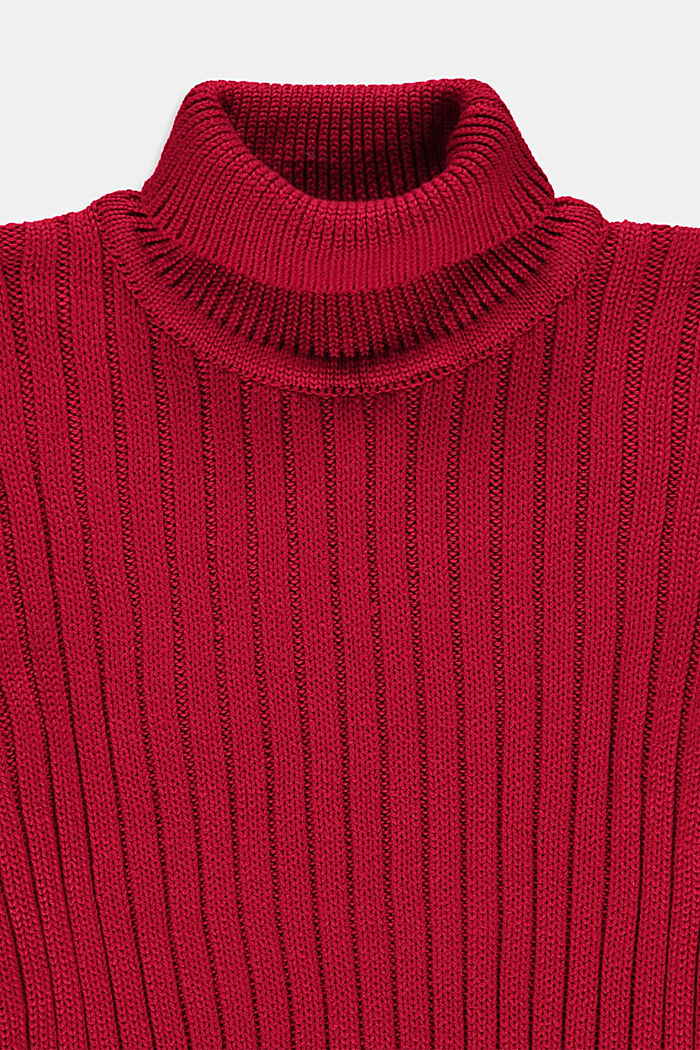 Sweaters, BERRY RED, detail image number 2