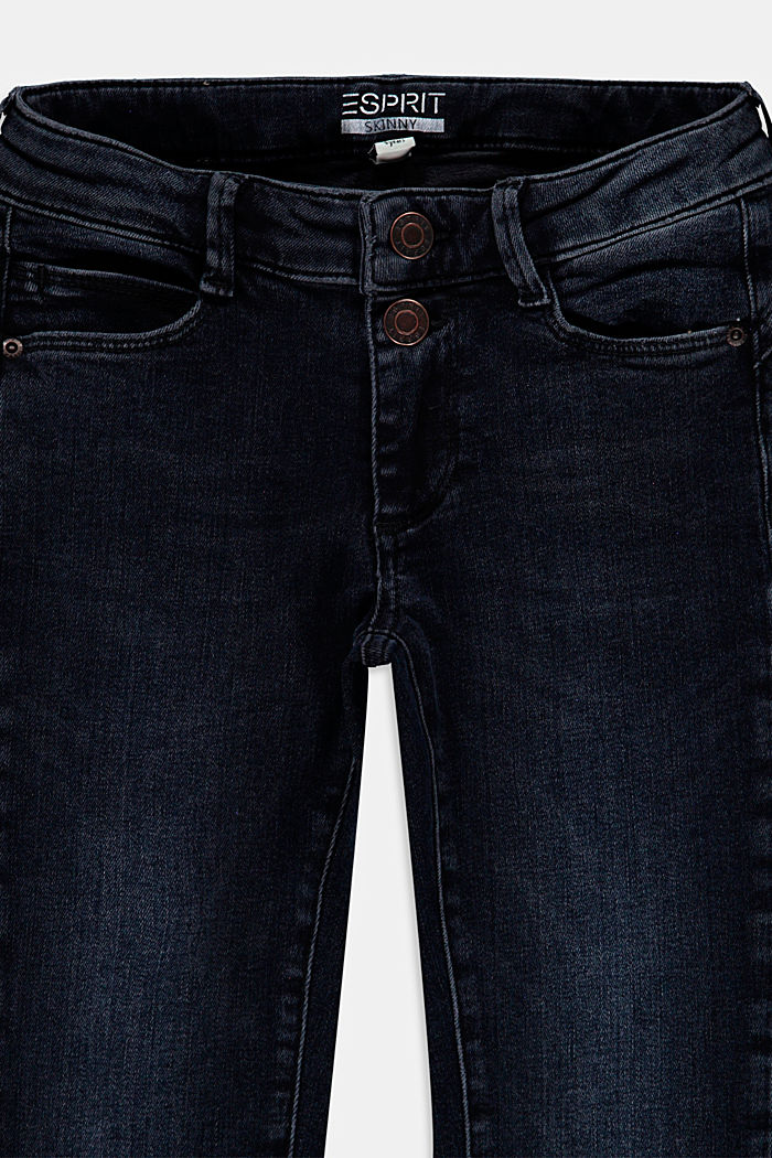 Pants denim, BLUE BLACK WASHED, detail image number 2