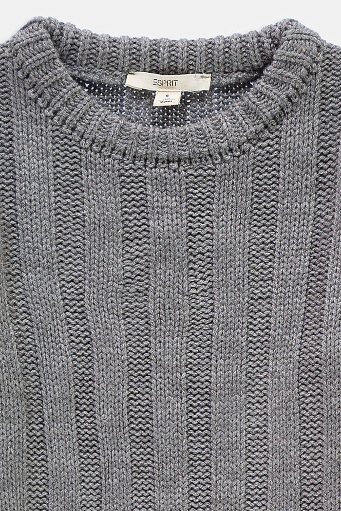 Dresses knitted, GREY, detail image number 2