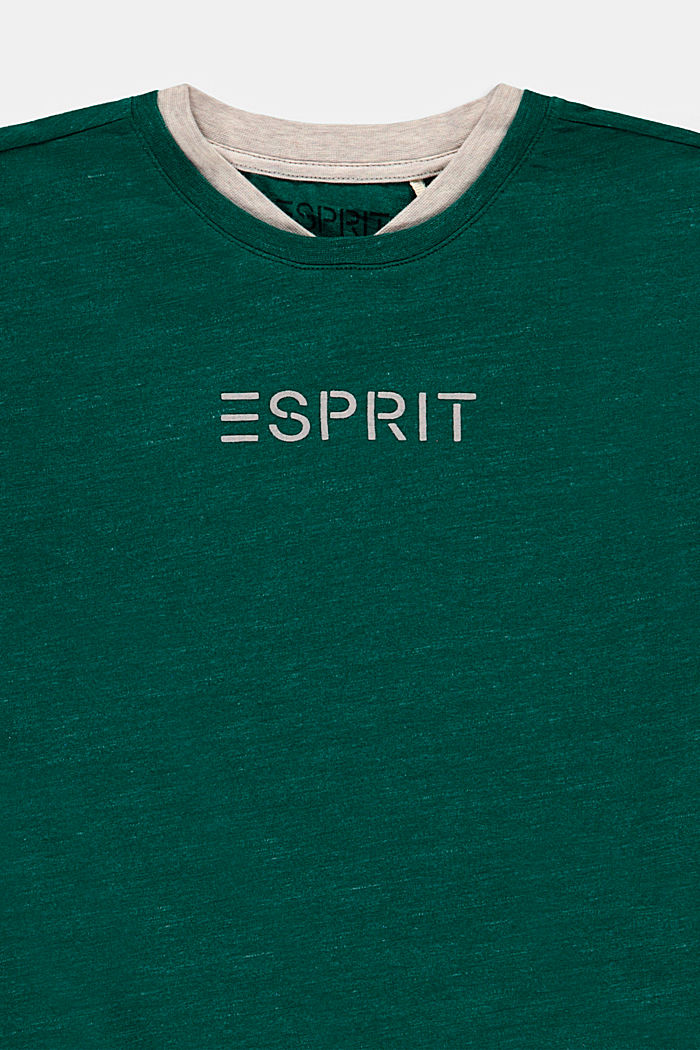 T-Shirts, EMERALD GREEN, detail image number 2