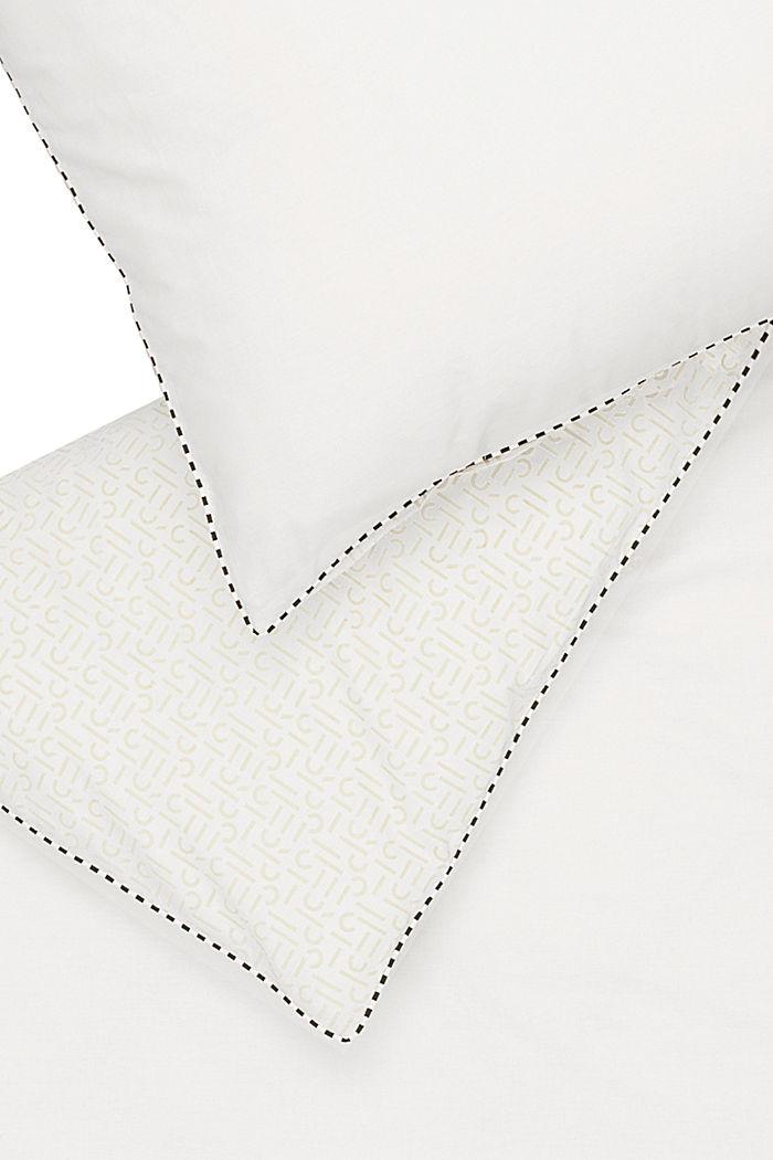 Renforcé-Bettwäsche mit Print, 100% Baumwolle, WHITE, detail image number 3