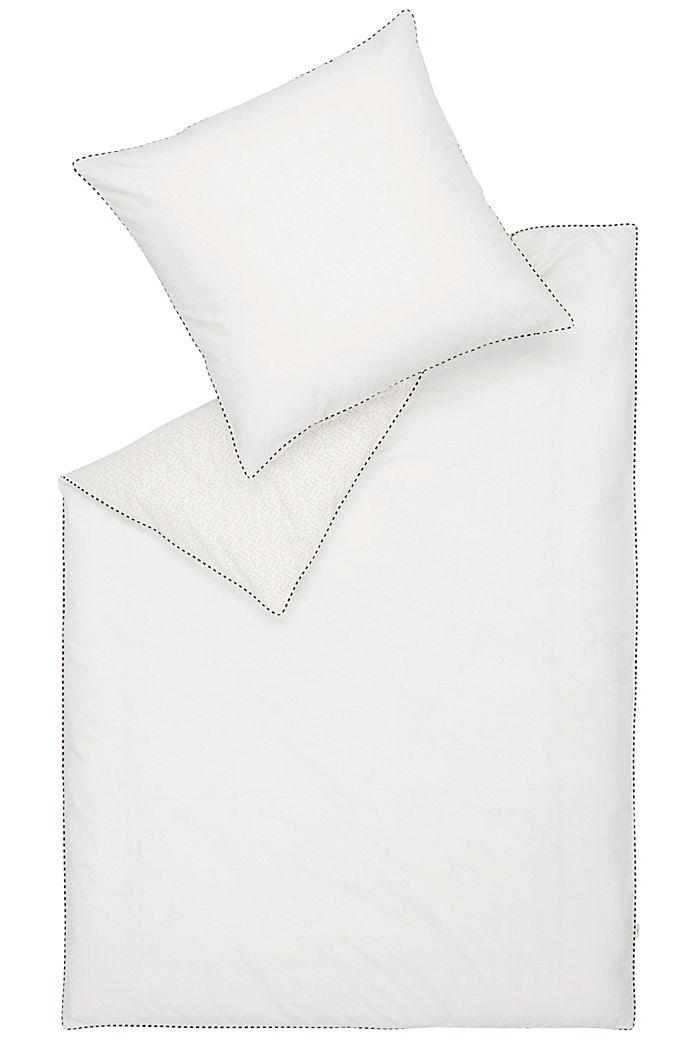 Renforcé-Bettwäsche mit Print, 100% Baumwolle, WHITE, detail image number 2