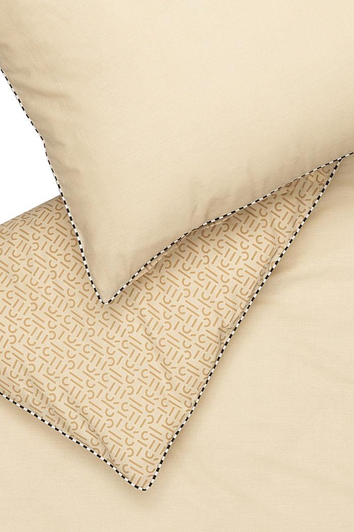 Renforcé-Bettwäsche mit Print, 100% Baumwolle, BEIGE, detail image number 3