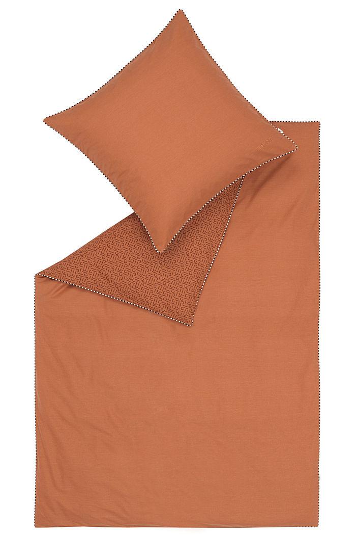 Renforcé-Bettwäsche mit Print, 100% Baumwolle, RUST, detail image number 2