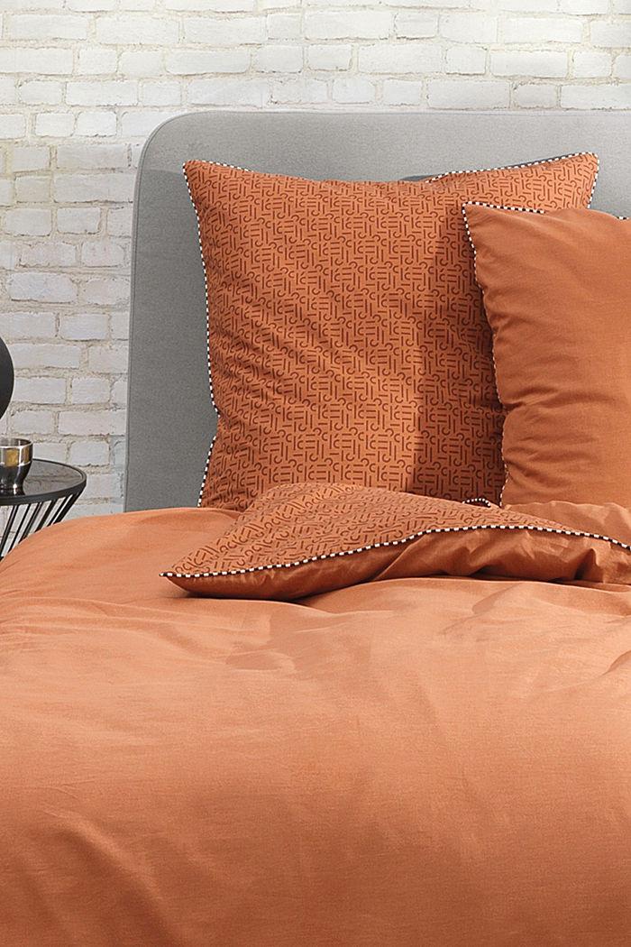 Renforcé-Bettwäsche mit Print, 100% Baumwolle, RUST, detail image number 1