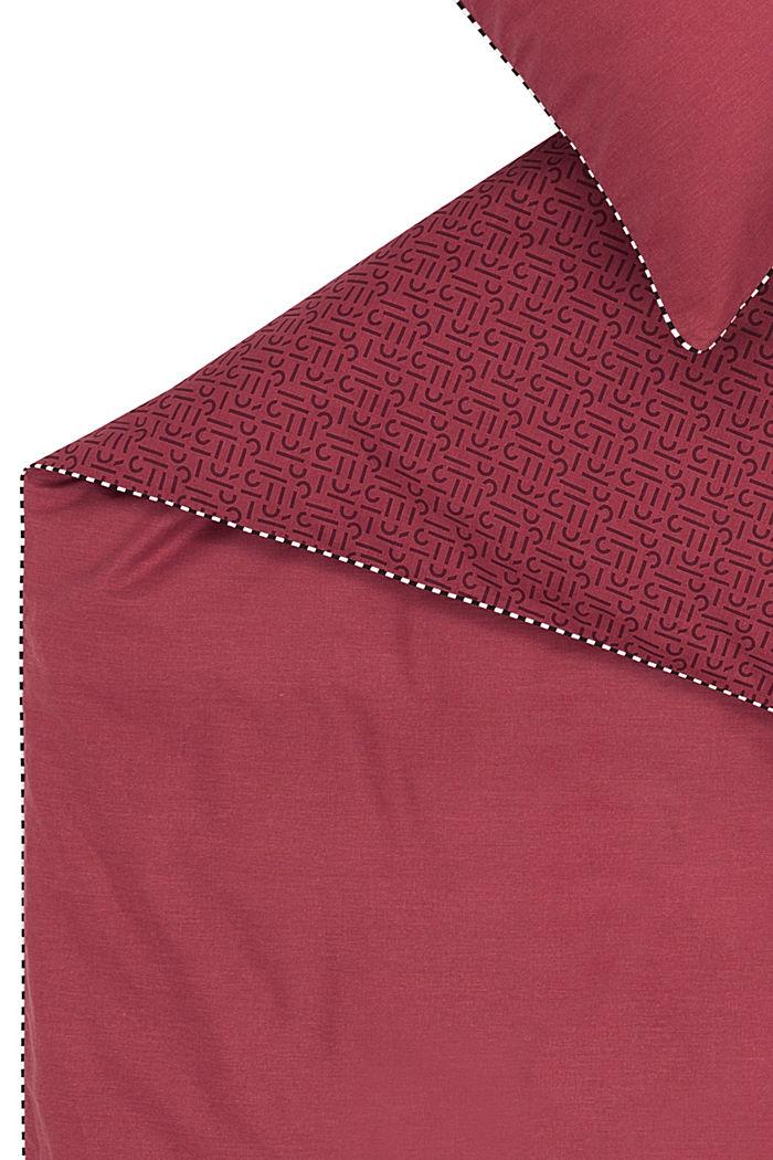 Renforcé-Bettwäsche mit Print, 100% Baumwolle, RED, detail image number 3
