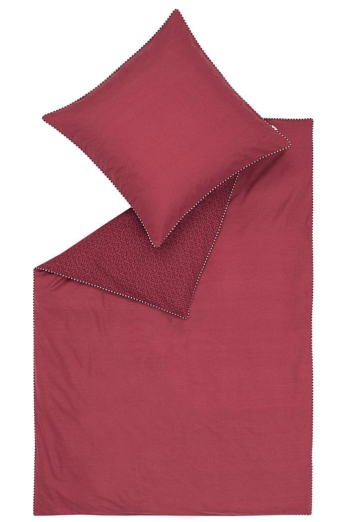 Renforcé-Bettwäsche mit Print, 100% Baumwolle, RED, detail image number 2