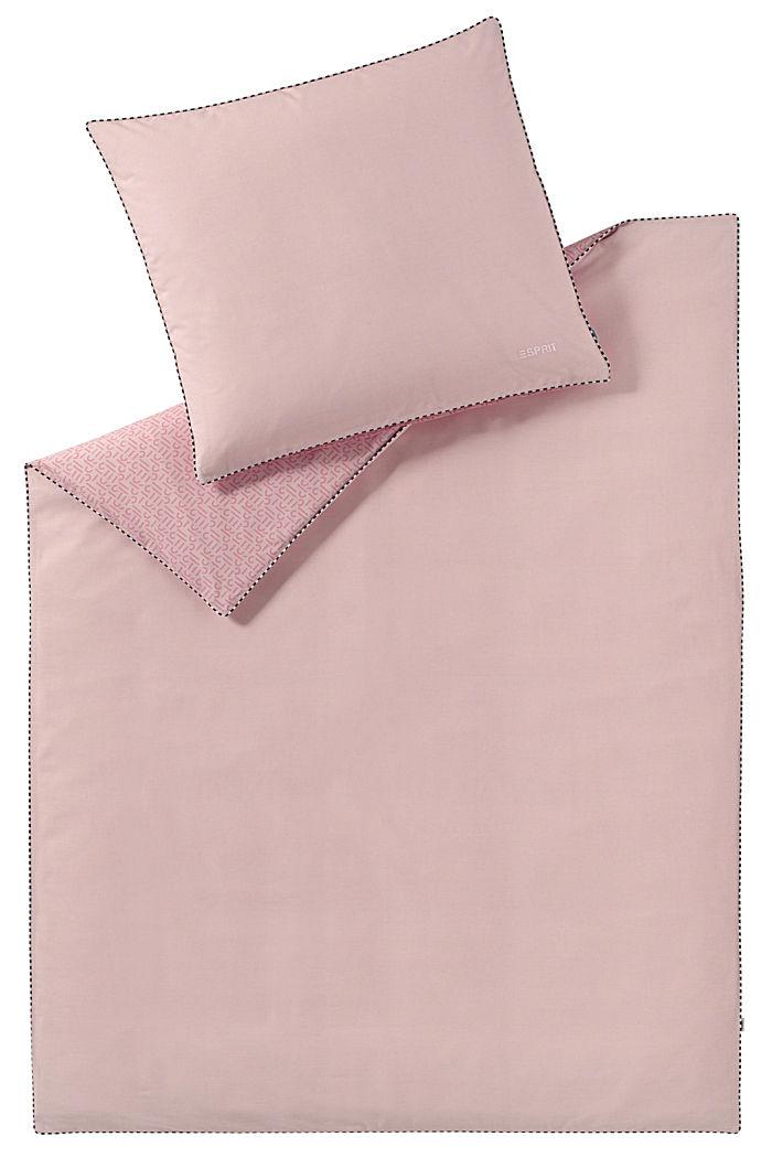 Renforcé-Bettwäsche mit Print, 100% Baumwolle, ROSE, detail image number 0