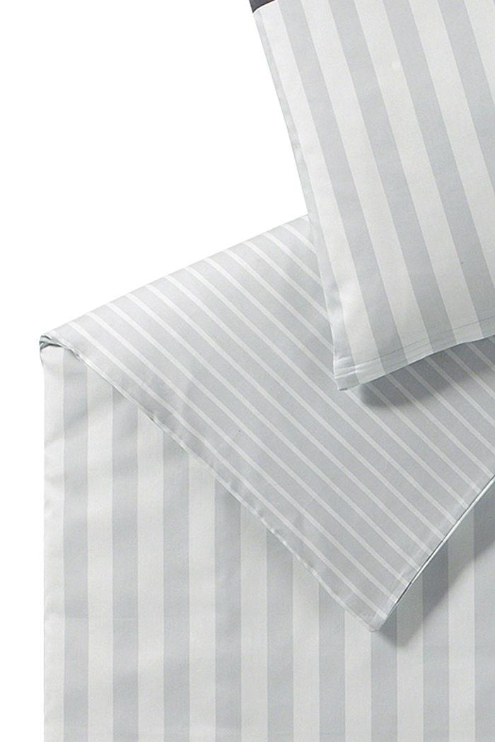 Satin-Bettwäsche aus 100% Baumwolle, LIGHTGREY, detail image number 3