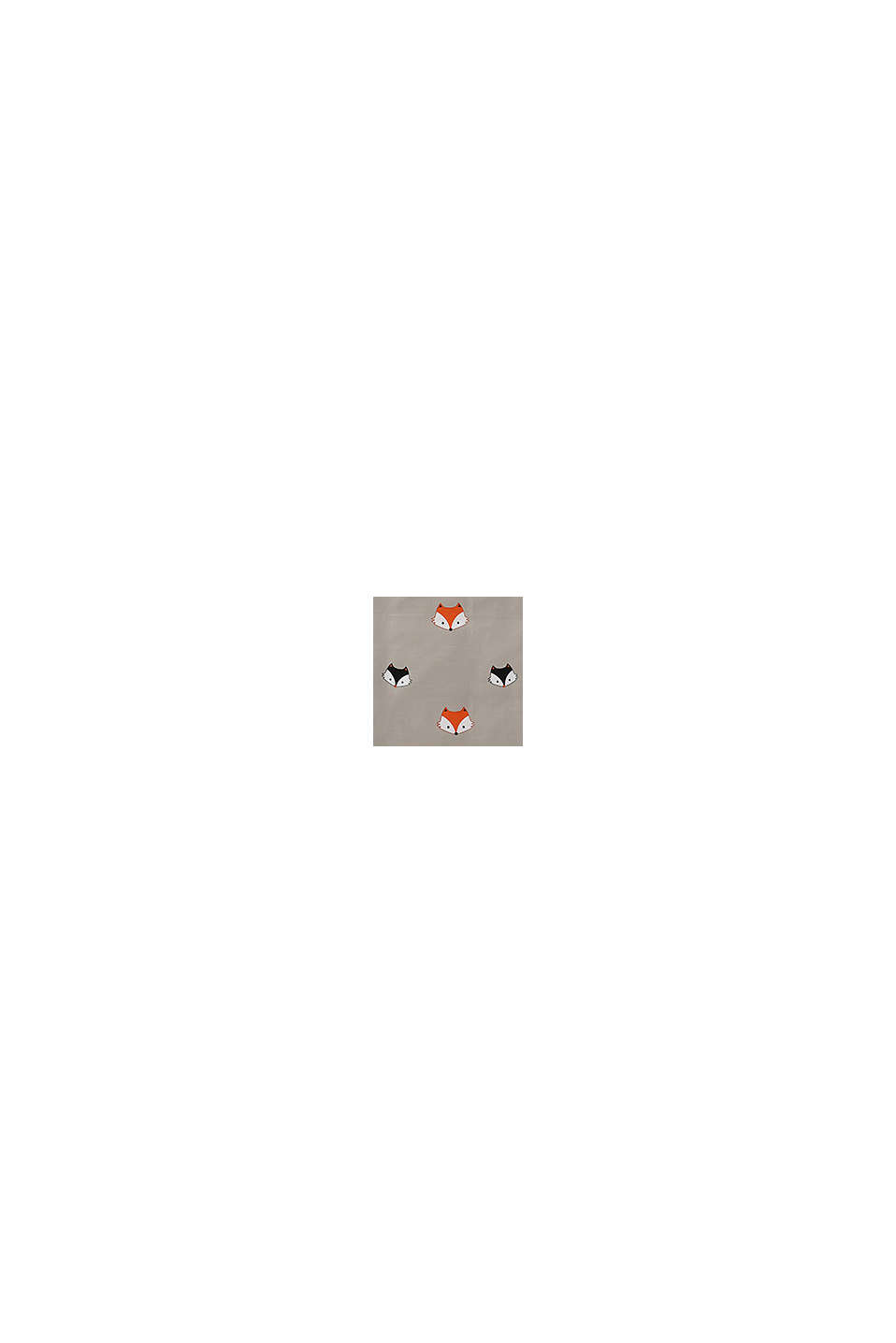 Renforcé-Bettwäsche aus 100% Baumwolle, BEIGE/ROST, swatch