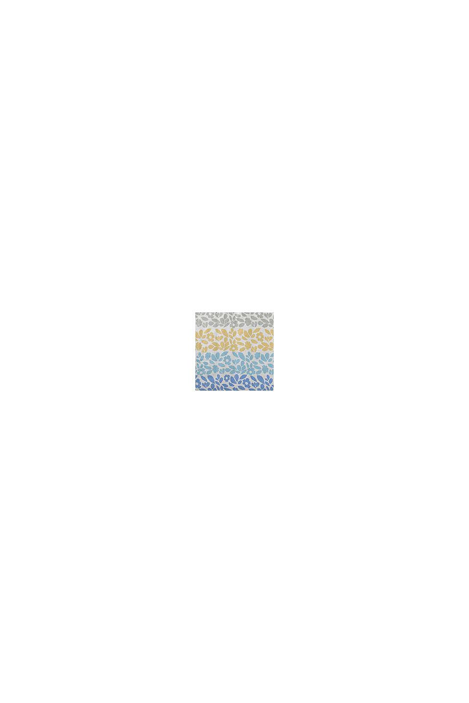 Satin-Bettwäsche aus 100% Baumwolle, AQUA/ORANGE, swatch