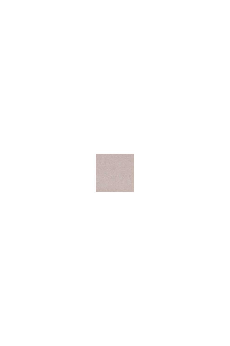 Jersey-Spannbettlaken mit Baumwolle, TAUPE, swatch