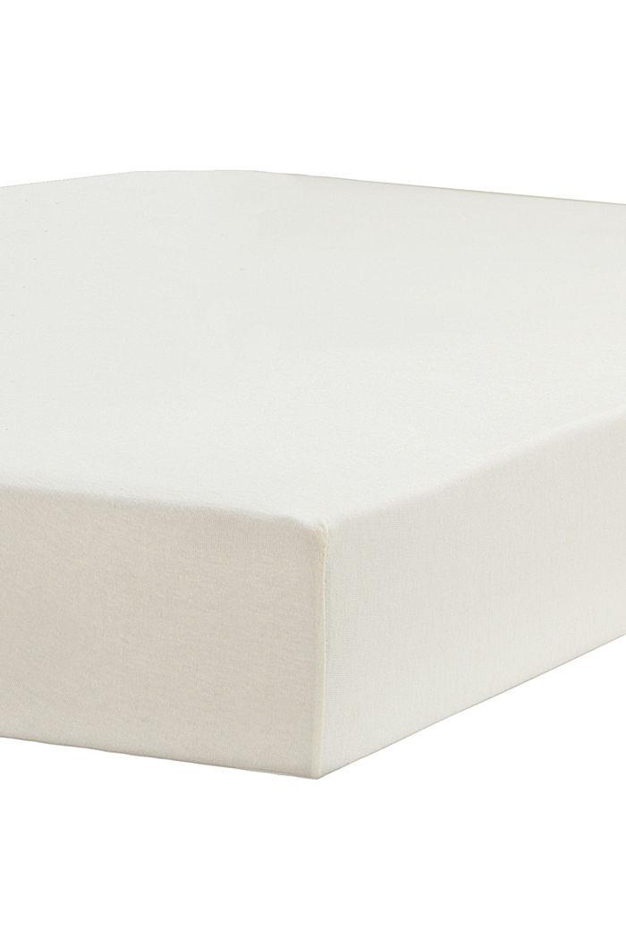 Jersey-Spannbettlaken mit Baumwolle