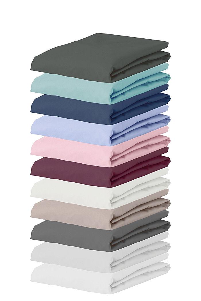 Jersey-Spannbettlaken mit Baumwolle, FRESH BLUE, detail image number 2