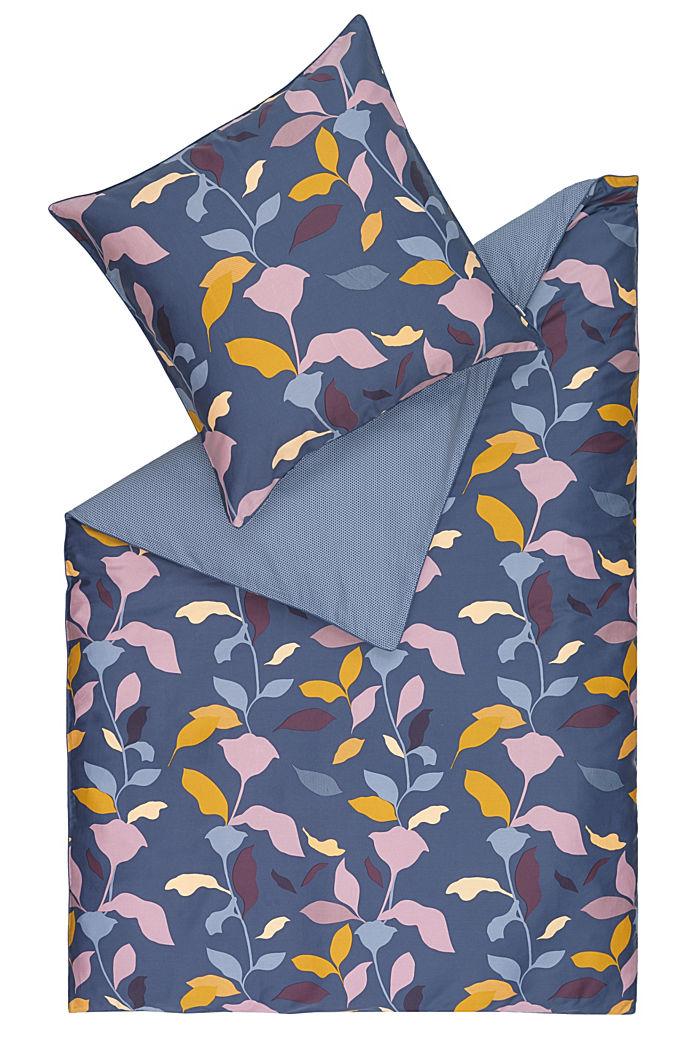 Bettwäsche aus 100% Baumwoll-Satin, BLUE, detail image number 0