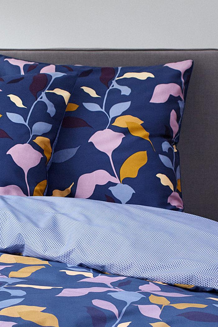 Bettwäsche aus 100% Baumwoll-Satin, BLUE, detail image number 2
