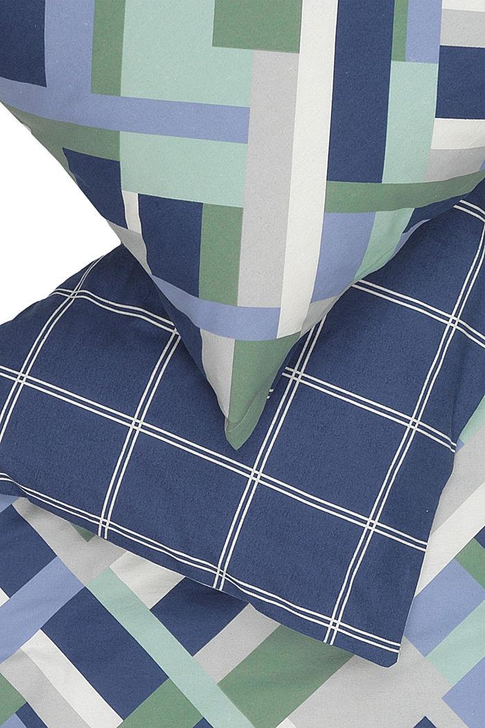 Bettwäsche aus Flanell, 100% Baumwolle, BLUE-GREEN, detail image number 2